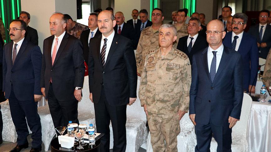 Erzurum'da 'Seçı̇m Güvenliği Toplantısı'