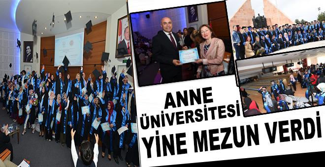 Anne Üniversitesi yine mezun verdi