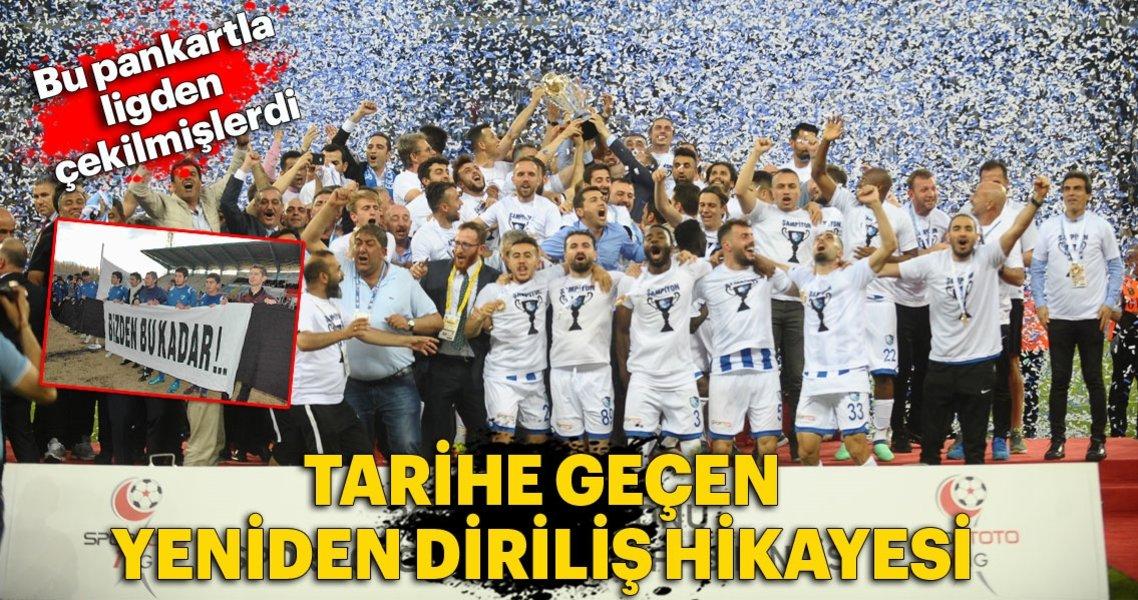İşte Erzurumspor'un şampiyonluk serüveni
