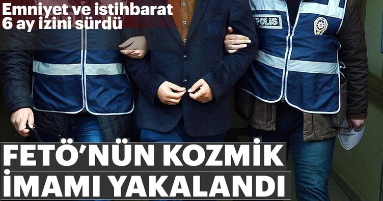 Doğu Anadolu imamı yakalandı