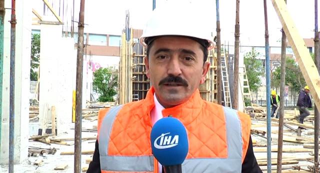 Erzurum'da Yapımı Devam Eden 1 Milyon Kitap Kapasiteli Kütüphane Binası