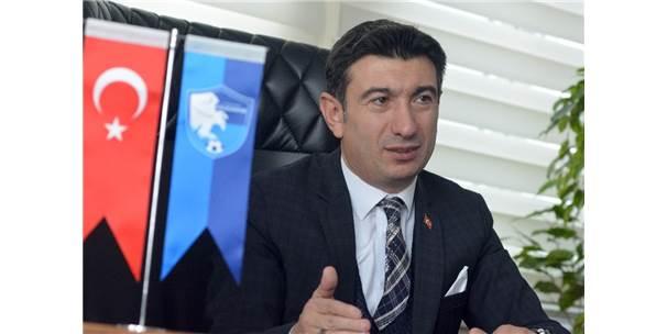 Erzurumspor'da öncelik Altıparmak.