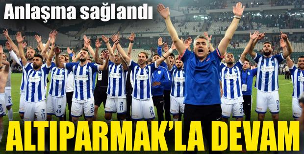 Erzurumspor, Süper Lig'de de Altıparmak'la devam edecek