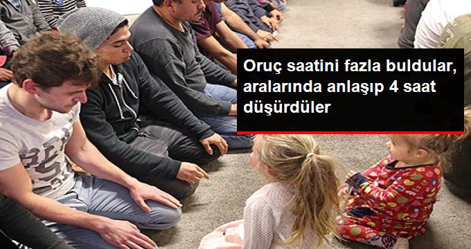 Grup Müslüman 22 Saatlik Orucu Kendi Aralarında 18 Saate İndirdi