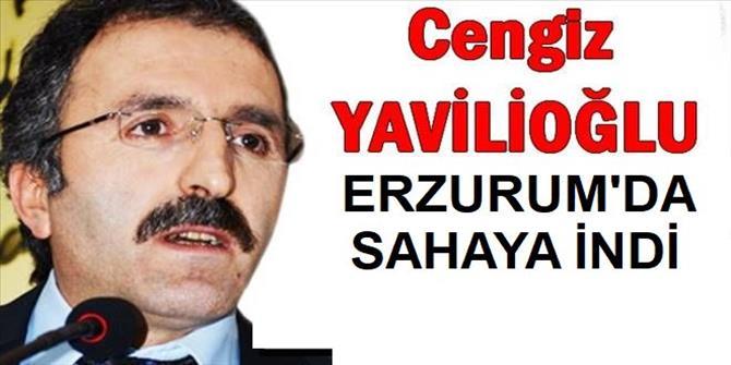 Yavilioğlu, Erzurum'da seçim çalışmalarına başladı