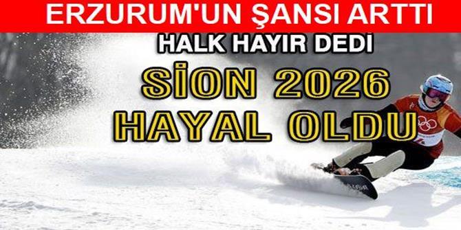 Erzurum'un şansı büyüdü