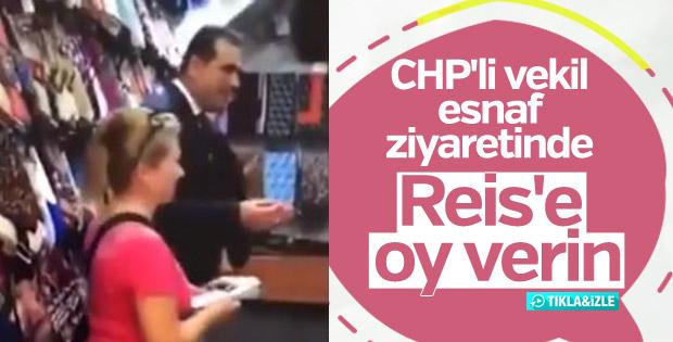 CHP Zonguldak 1. Sıra Milletvekili Ünal Demirtaş Cumhurbaşkanı Erdoğan için oy isteyince sosyal medyada gündem oldu