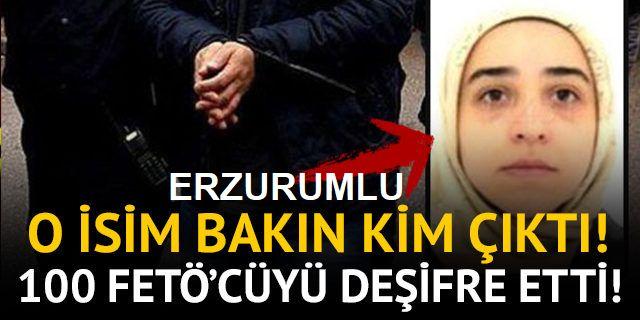 Gülen'in yeğeni Fatma Nur Gülen, 100 FETÖ'cüyü deşifre etti!