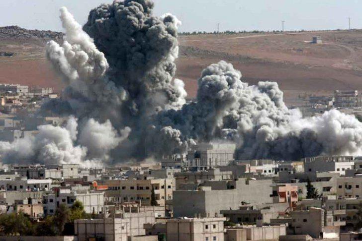 Suriye için flaş iddia! ABD bombaladı