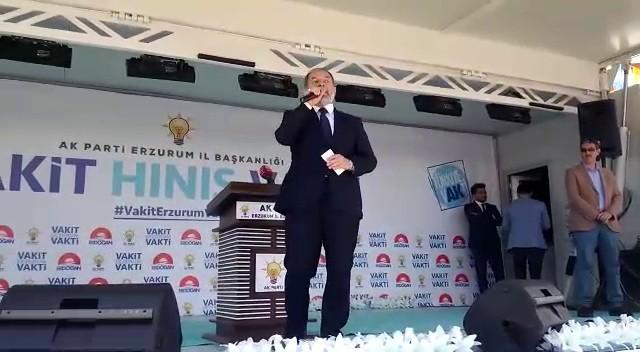 Bakan Akdağ Hınıs'taydı!