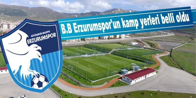 Büyükşehir Belediye Erzurumspor'un kamp programı belli oldu