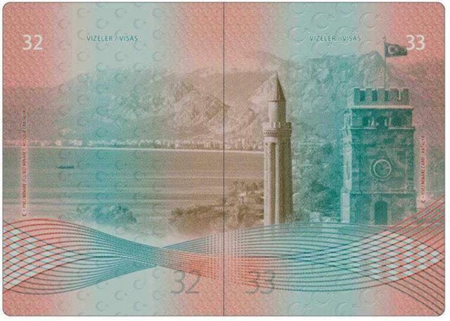 Yeni pasaportlara Antalya'dan 2 fotoğraf