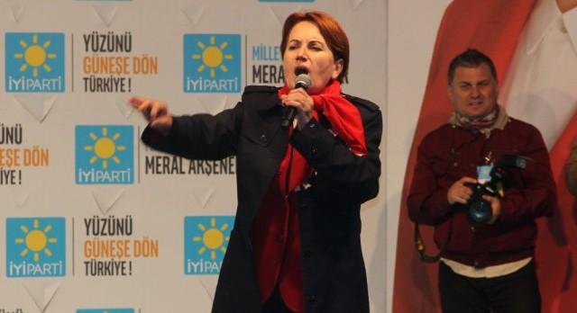 Erzurum'da İyi Parti Mitingi Sonrası Gerginlik