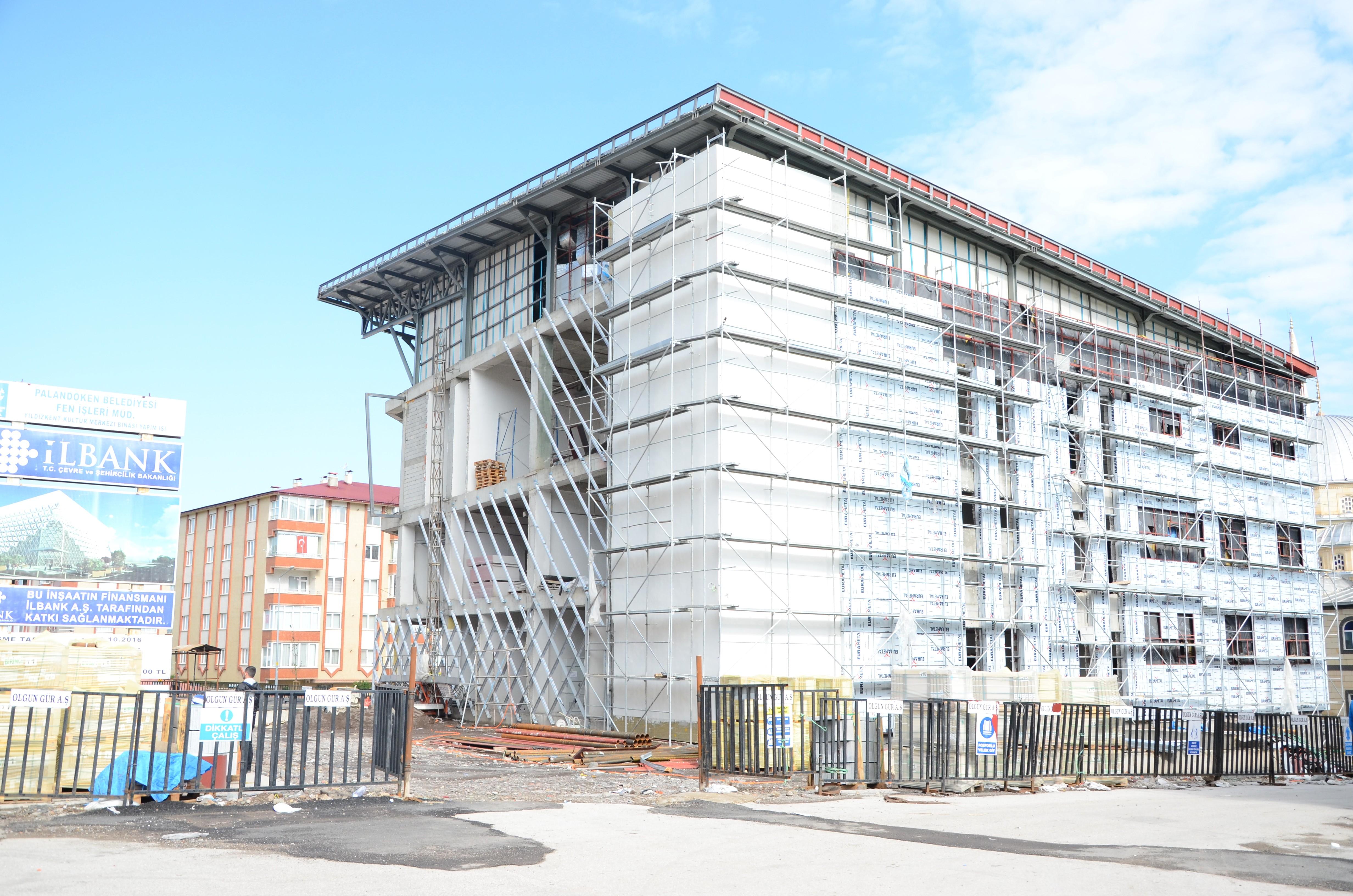 Palandöken Belediyesi, ikinci kültür merkezi için sona yaklaştı