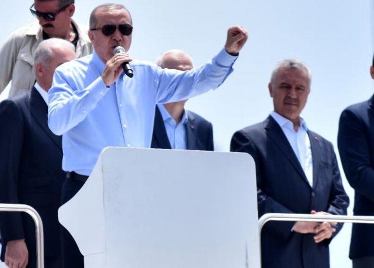 Erdoğan'dan İnce'ye ait olduğu öne sürülen ses kaydı ile ilgili flaş açıklama