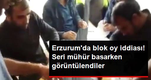 Erzurum'dan Seri Mühürleme Görüntüleri Tepki Çekti