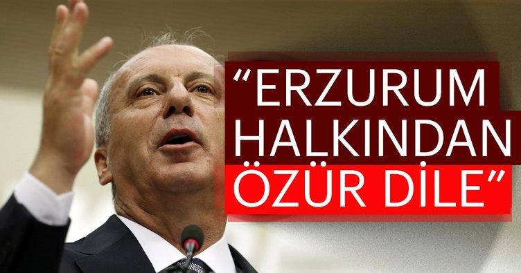 """Akdağ, """"Sizi Erzurum halkından özür dilemeye çağırıyorum"""""""