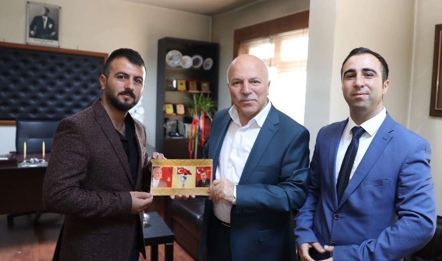 Başkan Sekmen'e Erzurumspor teşekkürü
