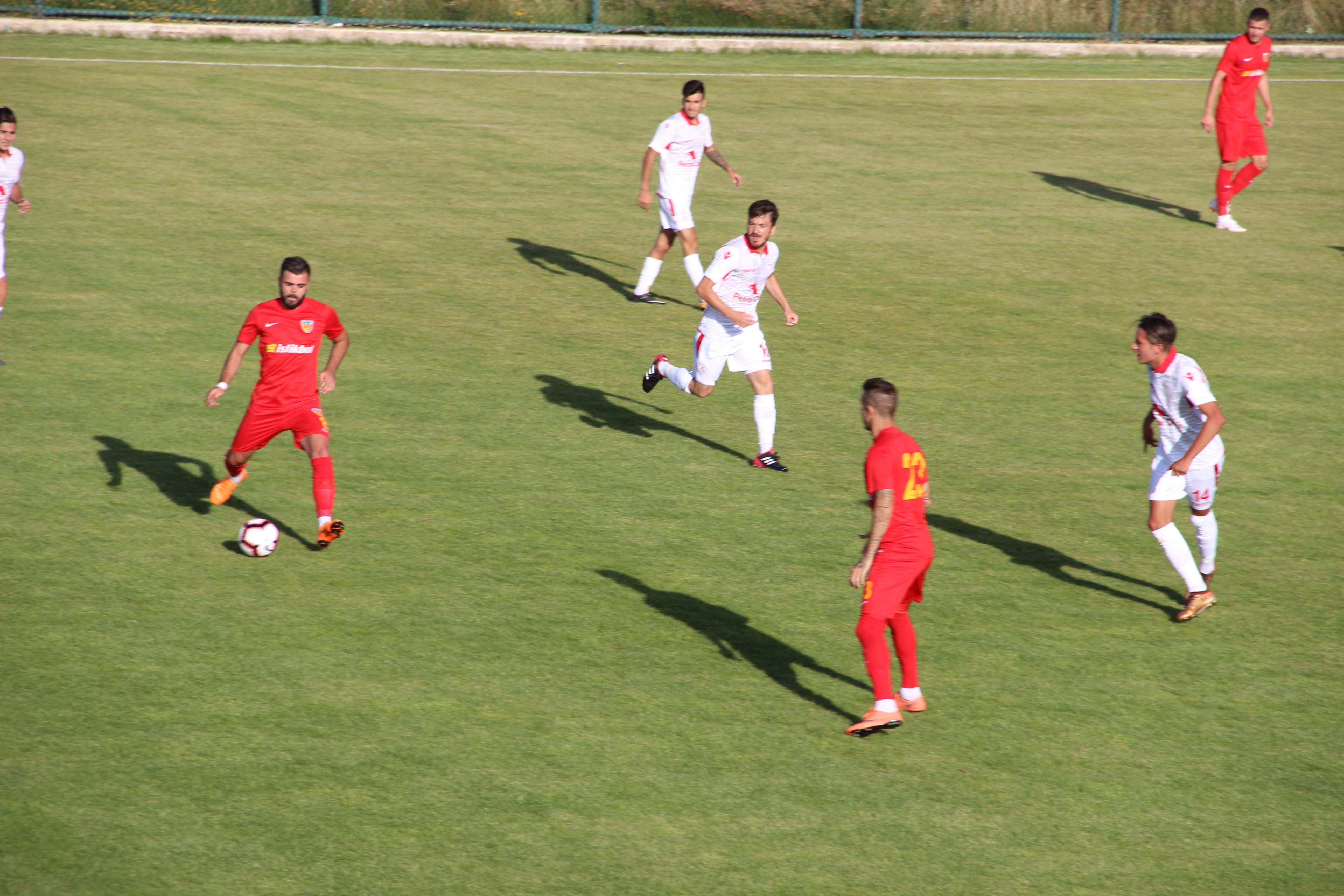 Kayserispor, hazırlık maçında Altınordu'yu 3-2 yendi