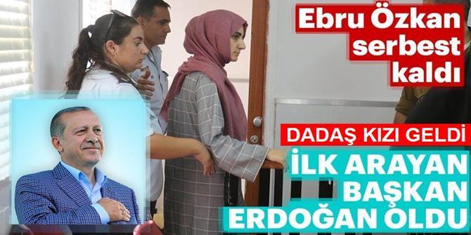 Dadaş kızı Ebru  Türkiye'ye döndü