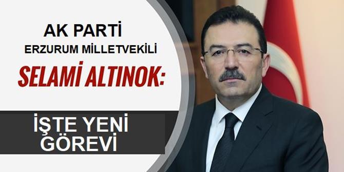 Erzurum'un gururu Altınok'a önemli görev