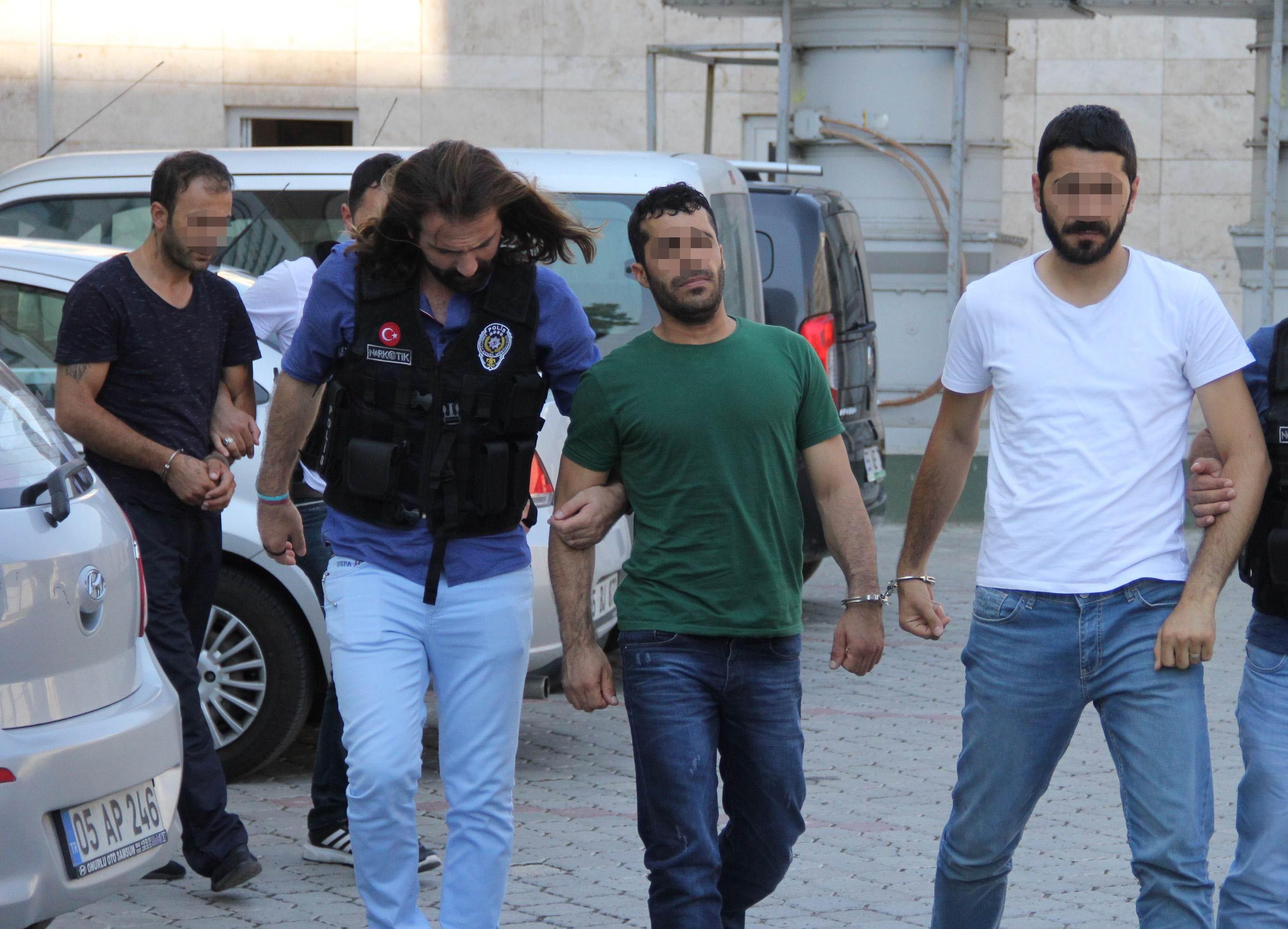 Erzurum'un yüz karası tutuklandı