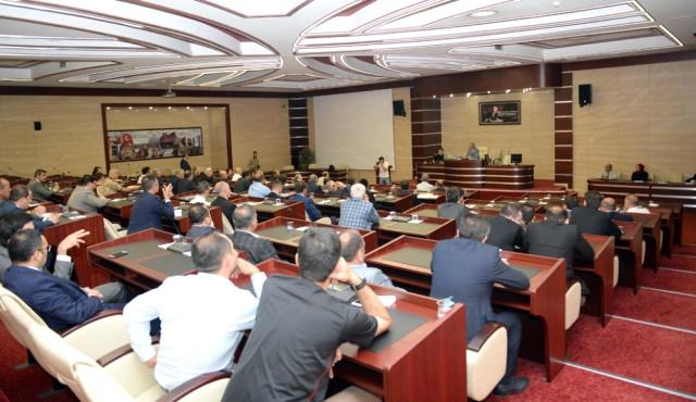 Erzurum'da İl Koordinasyon Kurulu Toplantısı Yapıldı