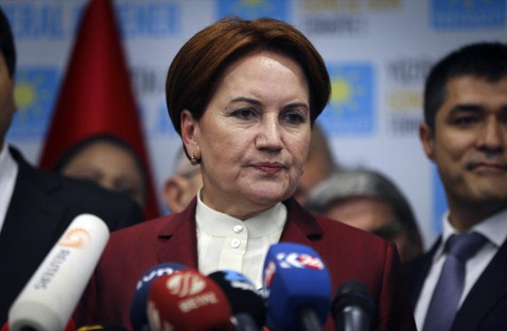 İYİ Parti Genel Başkanı Akşener'in kritik kararı
