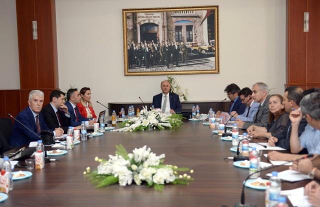 Erzurum İl İstihdam ve Mesleki Eğitim Kurulu Toplantısı Yapıldı