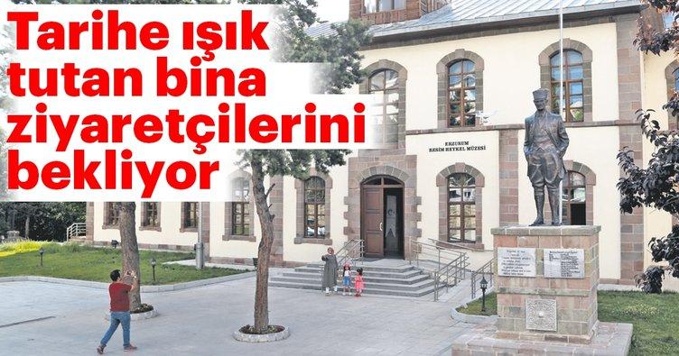 Erzurum Kongre Binası'nın restorasyonu tamamlandı