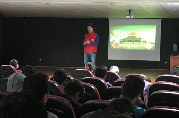 Erzurum'da Kur'an kurslarında Mescidi Aksa konferansı