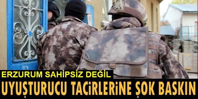 Erzurum Polisinden Uyuşturucu Operasyonu