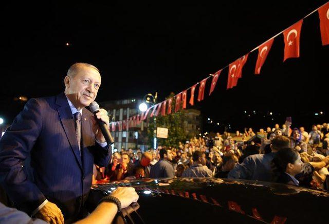 Cumhurbaşkanı Erdoğan: Onların doları varsa bizim de halkımız, Allah'ımız var