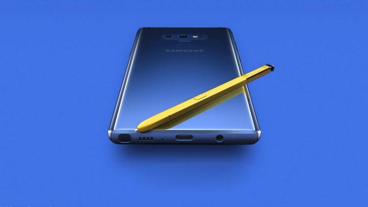 Samsung Galaxy Note 9 fiyatı belli oldu