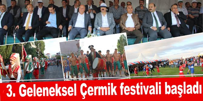 3. Geleneksel Çermik festivali başladı