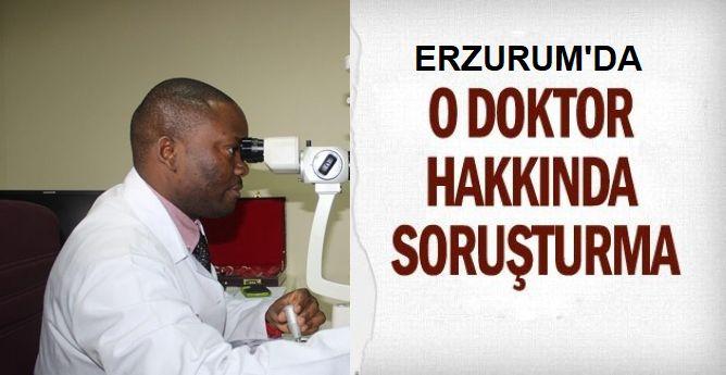 Erzurum'da skandala soruşturma