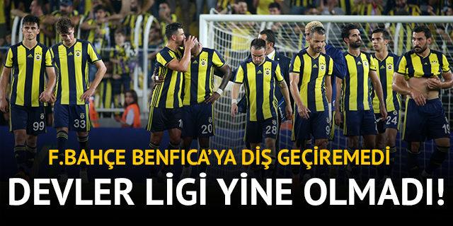 Fenerbahçe 1 - 1 Benfica