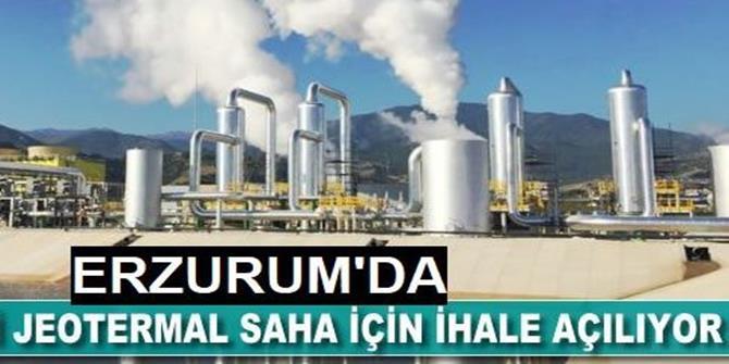 Erzurum'da jeotermal kaynak arama ruhsatlı saha ihalesi