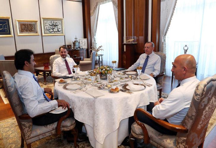Erdoğan-El Sani görüşmesinde gözlerden kaçan ayrıntı