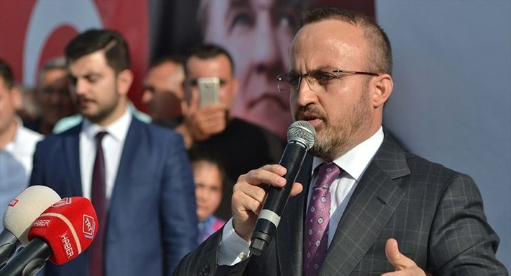 AK Partili Bülent Turan'dan Muharrem İnce'ye tepki