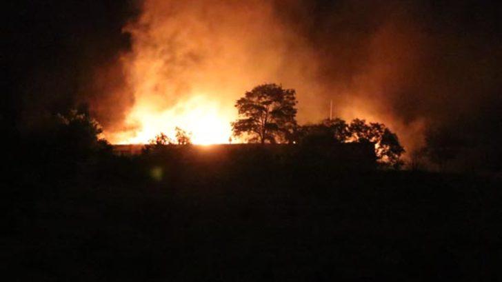 Erzincan'da 3'üncü Ordu Komutanlığı'nda yangın paniği!