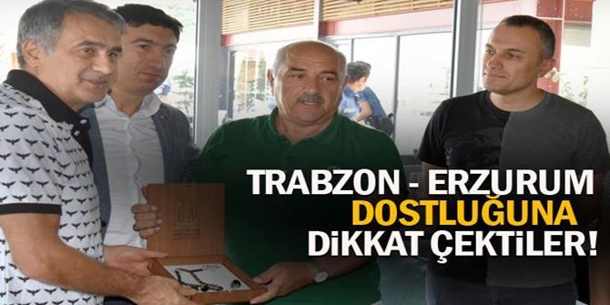 Trabzon - Erzurum dostluğu...