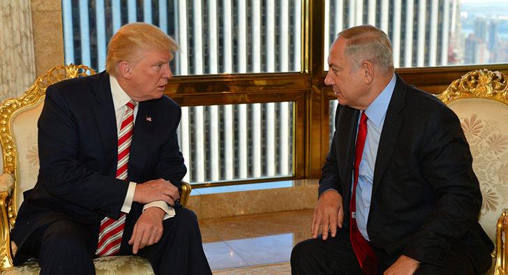 Trump'tan flaş İsrail iddiası!