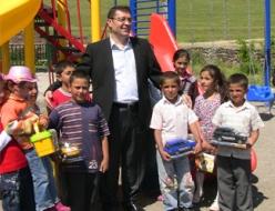 Erzurum'un çocukları gülüyor