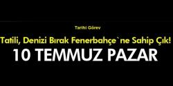 Fenerbahçe`ne Sahip Çık!'