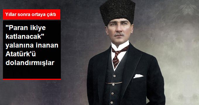 Ticarete Para Yatıran Mustafa Kemal Atatürk'ün Dolandırılma Öyküsü