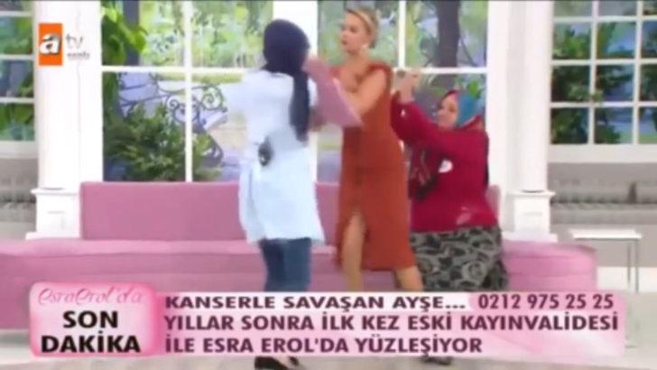 Esra Erol kendini siper etti