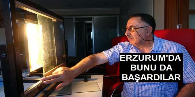 Erzurum'da Cama Mantolama Yaptı