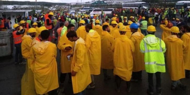 İşçiler, açılışa 5 hafta kala sudan sebeplerden 'Ayaklandılar'; hayırdır inşallah