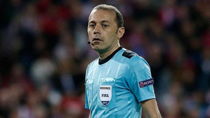 Cüneyt Çakır Liverpool - Paris Saint-Germain maçını yönetecek